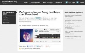 Alternative Music Blog