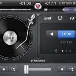 DJ Mixer in djay