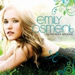 Emily Osment auf dem Cover zu All the Right Wrongs